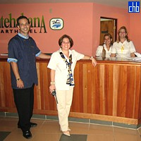 Staff at Aparthotel Montehabana