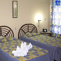 Dvojlůžkový pokoj v Aparthotelu Islazul Varazul