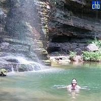 Sierra Maestra prirodni vodopadi i bazen