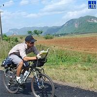 Biker in Vinales