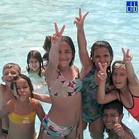 Діти кубинських туристів