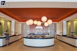 Buffet Restaurant, Hotel Dhawa Cayo Santa Maria