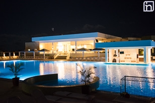 Night View of the Pool, Hotel Dhawa Cayo Santa Maria