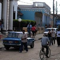 Baracoa's main street