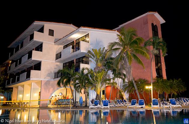 Hotel Acuario en el 2011, Marina Hemingway, La Habana, Cuba