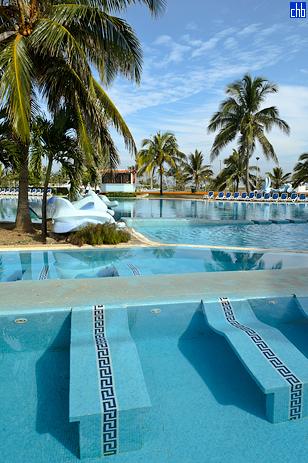 Бассейн отеля Акуарио, Марина Хемингуэй, Гавана, Куба