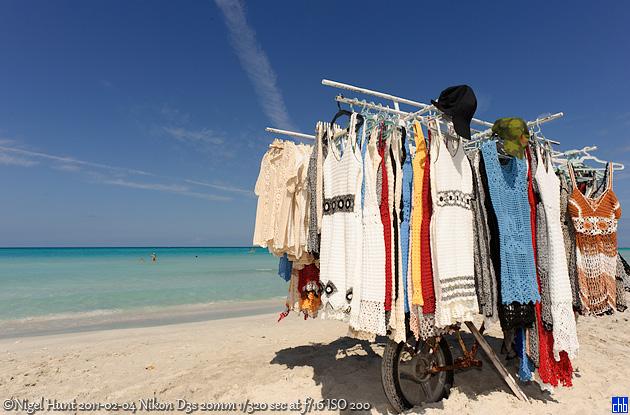 Hotel Aguas Azules Strand-Boutique auf Rädern