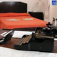 Pisaća mašina Ernesta Hemingveja i njegov krevet