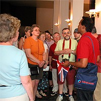 Turistički informativni centar o Kubi u hotelu Ambos Mundos