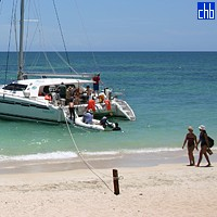 Yacht Catamarano Ancon