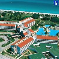 Pogled iz zraka na hotel Arenas Blancas