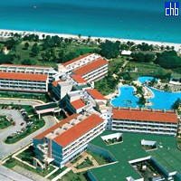 Arenas Blancas Hotel Aerial View