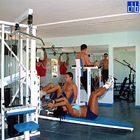 Gym Room At The Arenas Blancas Hotel