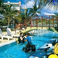 Diving Lesson At The Arenas Blancas Hotel
