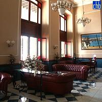 Recepción del Hotel Armadores de Santander