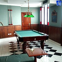 Armadores De Santander Hotel  Pool Table