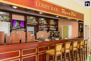 Lobby Bar of the Hotel Encanto Arsenita, Gibara, Holguin