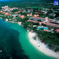 Aerial View Of The Atlantico Guardalavaca Hotel