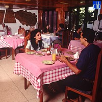 Restaurant At Islazul Balcon Del Caribe