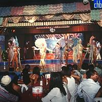Show u hotelu Balcon Del Caribe