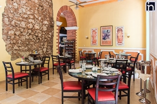 Restaurant of the Hotel Encanto Barcelona, Remedios, Villa Clara