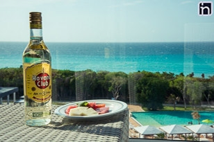 Bouteille gratuite de Rhum de la marque Havana Club, hôtel Iberostar Bella Vista