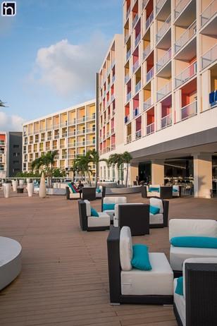 Jardin terasse, Hôtel Iberostar Bella Vista, Varadero, Matanzas, Cuba