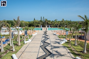 Camminata verso la piscina, Iberostar Bella Vista