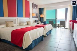 Chambre standard avec vue sur l'océan, hôtel  Bella Vista, Varadero, Matanzas, Cuba