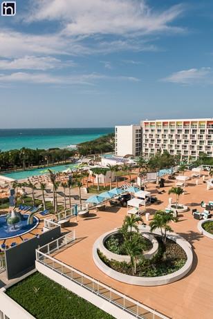 Vista desde la Terraza del Hotel Iberostar Bella Vista, Varadero, Matanzas, Cuba