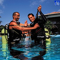 Diving Lesson At The Varadero Hotel