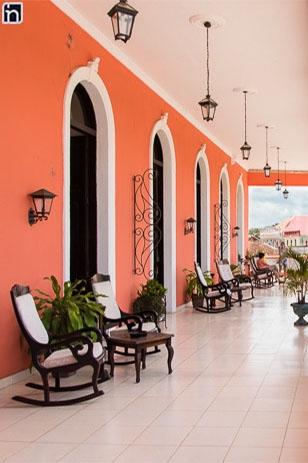 First Floor Balcony, Hotel Encanto Camino del Principe, Remedios, Villa Clara, Cuba