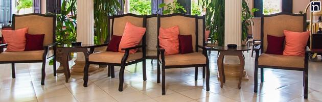 Lobby Furniture, Hotel Encanto Camino del Principe, Remedios, Villa Clara, Cuba