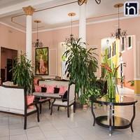 Lobby of the Hotel Encanto Camino del Principe, Remedios, Villa Clara, Cuba