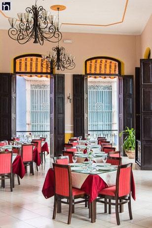 Restaurant of the Hotel Encanto Camino del Principe, Remedios, Villa Clara, Cuba