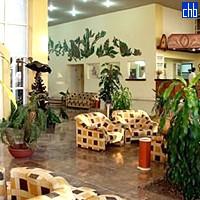 Lobby beim Hotel Canimao