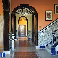 Decorative Eclectic Hallway, Hotel Casa Verde, Cienfuegos