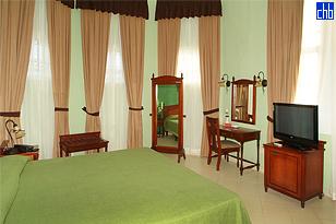 Soba sa Kingsajz Krevetom, Hotel Casa Verde, Cienfuegos, Cuba