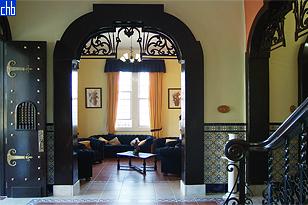 Atrio d'Entrata Albergo Casa Verde