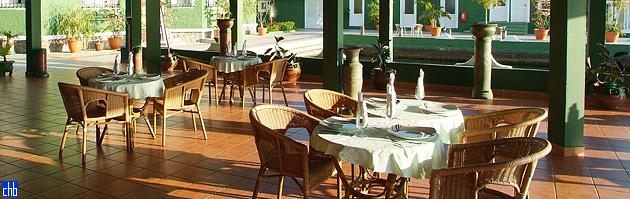 Restaurante do Hotel Casa Verde