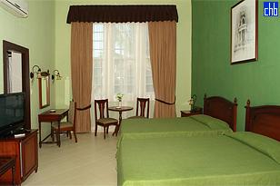 Quarto Twin, Hotel Casa Verde