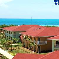 Widok z Hotelu Memories Caribe