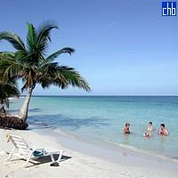 Пляж в отеле Кайо Левиса