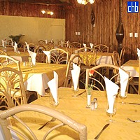 Restaurante em Cayo Levisa