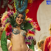 Hotel Blau Cayo Libertad Cabaret Girl