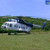 Helicopter To Villa Cayo Saetia