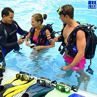 Diving Lesson At The Cayo Santa Maria Hotel
