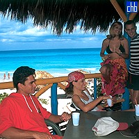 Beach Bar At Aguas Azules