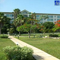 Giardino all'Hotel Starfish Varadero