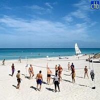 Volley On Aguas Azules Beach